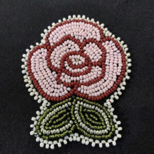 Ali Dusome, beadwork, Indigenous Artist, First Nations, Indigenous Arts Collective of Canada, Pass The Feather