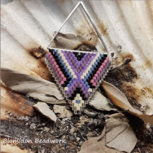 Nicole Travers, beadwork, jewelry, Indigenous Artist, First Nations, Indigenous Arts Collective of Canada, Pass The Feather
