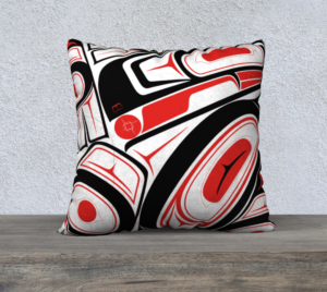 Shar Wilson, Authentic Indigenous Wearable Art, Indigenous Graphic Design, Illustrator, Indigenous Artist, First Nations, Indigenous Arts Collective of Canada, Pass The Feather