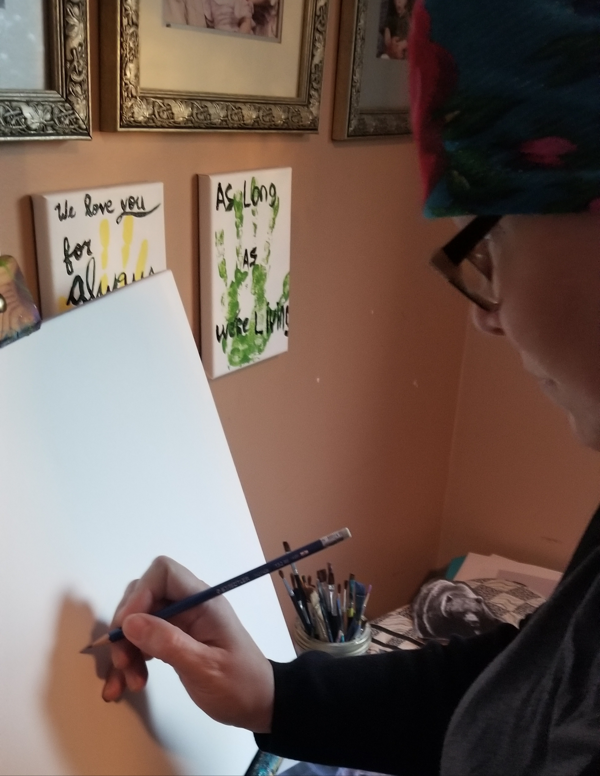 Madeline Belanger, Painting, drawing, Indigenous Artist, First Nations, Indigenous Arts Collective of Canada, Pass The Feather
