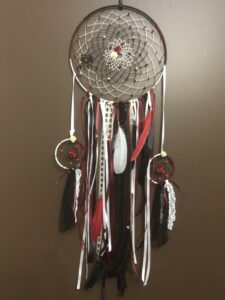 April Stephan-Erikson, crafts, dreamcatchers, Indigenous Artist, First Nations, Indigenous Arts Collective of Canada, Pass The Feather