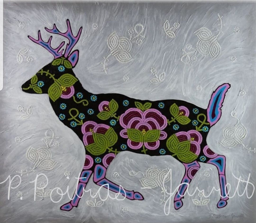 Phyllis Poitras-Jarrett, Mixed Media, Paintings, Prints, Resin, Indigenous Artist, First Nations, Indigenous Arts Collective of Canada, Pass The Feather