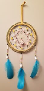 Stephanie White, Sweetgrass, dream catcher, quillwork, painting, jewelry, baskets, seal skin, Indigenous Artist, First Nations, Indigenous Arts Collective of Canada, Pass The Feather