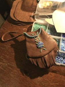 Autumn Maracle, beadwork, moccasins, jewelry, Indigenous Artist, First Nations, Indigenous Arts Collective of Canada, Pass The Feather