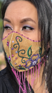 Crystal Behn, Beadwork, jewellery, shawls, vests, moccasins, Indigenous Artist, First Nations, Indigenous Arts Collective of Canada, Pass The Feather