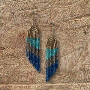 Paskale Malette, beadwork, beading, jewelry, Indigenous Artist, First Nations, Indigenous Arts Collective of Canada, Pass The Feather