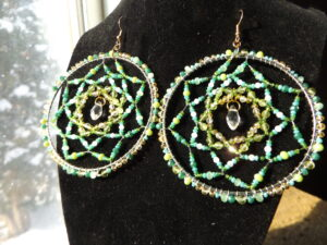Celeste Grouette, crafts, jewelry, dreamcatchers, Indigenous Artist, First Nations, Indigenous Arts Collective of Canada, Pass The Feather