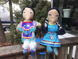 Joanne Charette, Fibre art, Embroidery, kitchenware, Indigenous Artist, First Nations, Indigenous Arts Collective of Canada, Pass The Feather