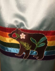 Lisa Charette, beadwork, jewelry, ribbonwork, regalia, Indigenous Artist, First Nations, Indigenous Arts Collective of Canada, Pass The Feather