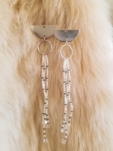 Ashley Clark, Jewelry, Beadwork, Indigenous Artist, First Nations, Indigenous Arts Collective of Canada, Pass The Feather