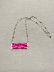 Carly Smith, beadwork, jewelry, Indigenous Artist, First Nations, Indigenous Arts Collective of Canada, Pass The Feather