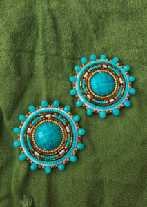 Gabrielle Beaupre, beadwork, jewelry, Indigenous Artist, First Nations, Indigenous Arts Collective of Canada, Pass The Feather